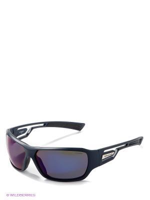 Солнцезащитные очки Polaroid. Цвет: темно-синий, синий