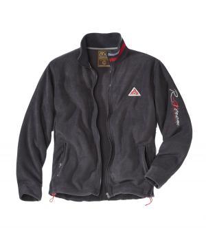 Флисовая Куртка с Воротником на Молнии AFM. Цвет: серыи