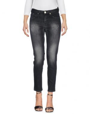 Джинсовые брюки J-CUBE. Цвет: черный