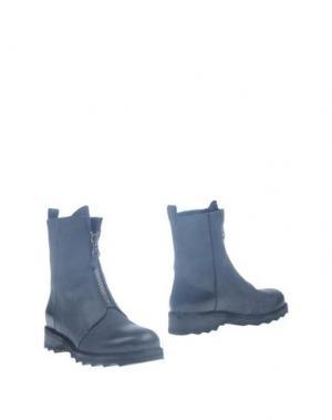 Полусапоги и высокие ботинки HENRY BEGUELIN. Цвет: стальной серый