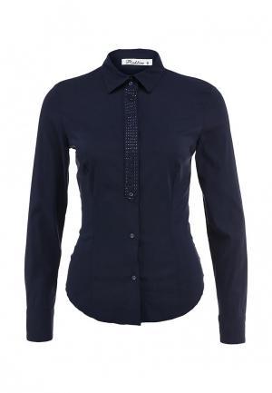 Блуза Pinkline. Цвет: синий