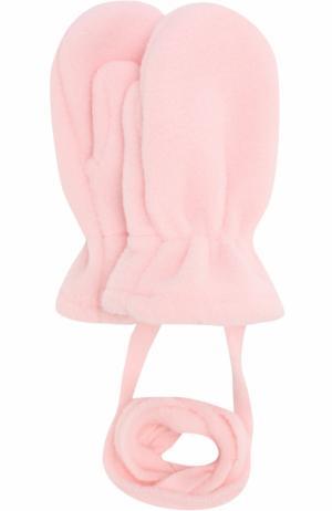 Варежки из полиэстера Catya. Цвет: розовый