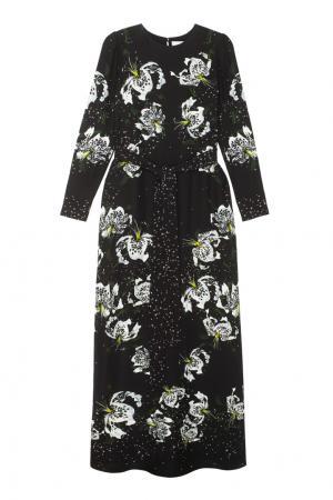Платье Agnes Erdem. Цвет: черный, белый