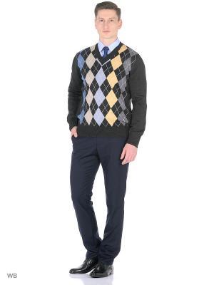 Пуловер FILPUCCI. Цвет: темно-серый