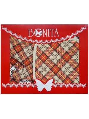 Комплект BONITA. Цвет: терракотовый, светло-коричневый, бежевый, белый