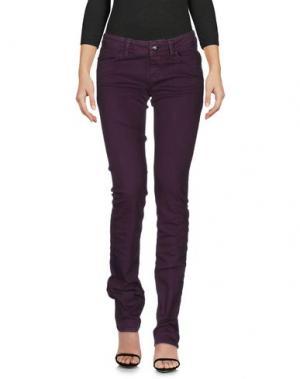 Джинсовые брюки MAGILLA. Цвет: фиолетовый