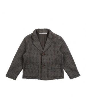 Пиджак DANIELE ALESSANDRINI. Цвет: голубиный серый