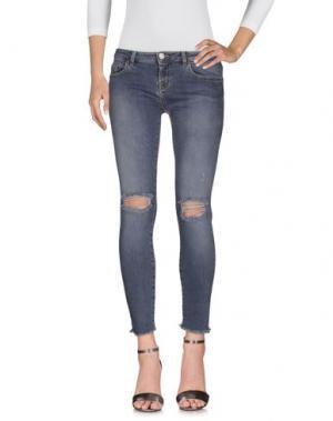 Джинсовые брюки ONEDRESS ONELOVE. Цвет: серый