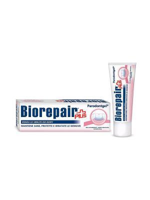 Зубная паста для лечения пародонтоза, Plus Paradongel BIOREPAIR. Цвет: белый