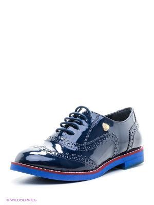 Туфли U.S. Polo Assn.. Цвет: темно-синий