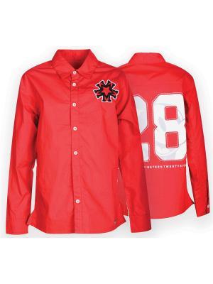 Рубашка Pinetti. Цвет: красный