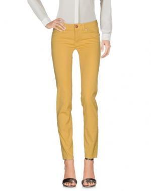 Повседневные брюки ROŸ ROGER'S. Цвет: желтый