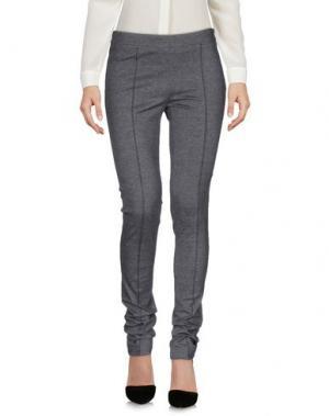 Повседневные брюки LALTRAMODA. Цвет: свинцово-серый
