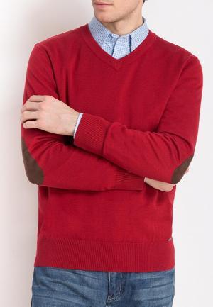 Пуловер Finn Flare. Цвет: красный