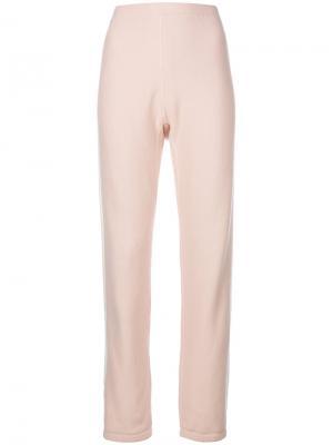 Повседневные брюки с полосками сбоку Rag & Bone. Цвет: розовый и фиолетовый