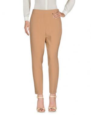 Повседневные брюки SOUVENIR. Цвет: верблюжий