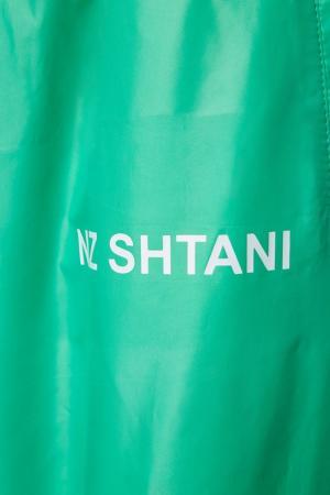 Зеленые широкие брюки Natasha Zinko. Цвет: none