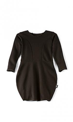 Платье ballon Nununu. Цвет: черный