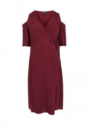 Платье Topshop Maternity. Цвет: бордовый