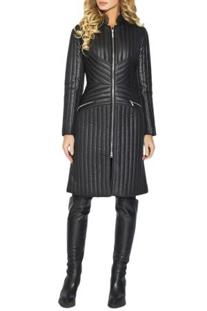 Пальто CLEVER woman studio. Цвет: черный