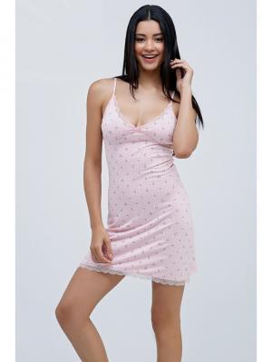 Сорочка MARIPOSA. Цвет: бледно-розовый