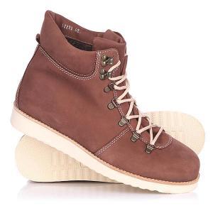 Ботинки зимние  Tim Brown Rheinberger. Цвет: коричневый