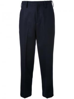 Укороченные брюки College Cityshop. Цвет: чёрный