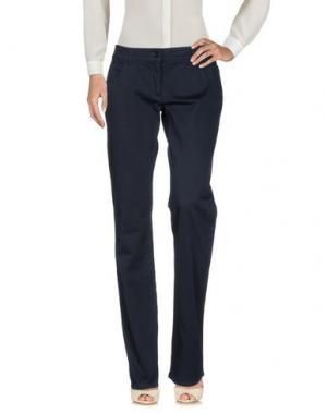 Повседневные брюки BURBERRY. Цвет: темно-синий