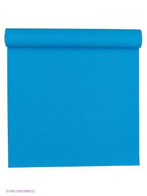 Коврик для йоги Сита разной длины 60х3мм (1 кг, 175 см, 3 мм, голубой, 60см) RamaYoga. Цвет: голубой