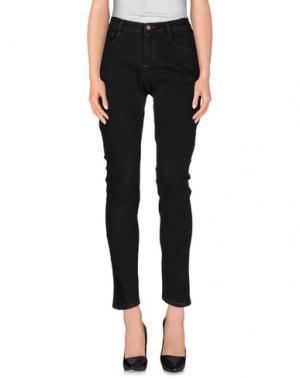 Джинсовые брюки MICHIKO KOSHINO. Цвет: черный