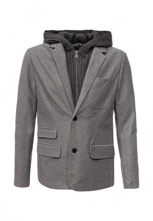 Пальто Dry Laundry. Цвет: серый