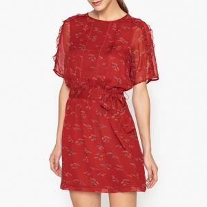 Платье с рисунком  KISAKI SESSUN. Цвет: наб. рисунок красный