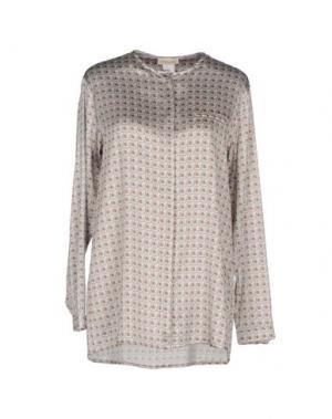Pубашка BRUNO MANETTI. Цвет: серый