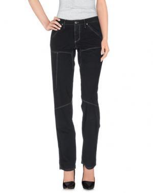 Повседневные брюки JAGGY. Цвет: черный