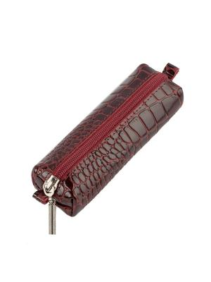 Ключница Timeless (145х45х35) (бордовый крокодил). Цвет: бордовый