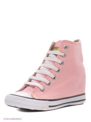 Сникеры 4U. Цвет: бледно-розовый