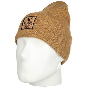 Шапка  Scrooge Beanie Brown Picture Organic. Цвет: бежевый