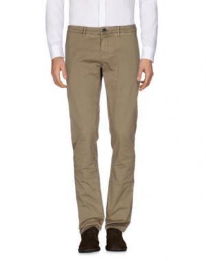 Повседневные брюки HAMPTONS. Цвет: хаки