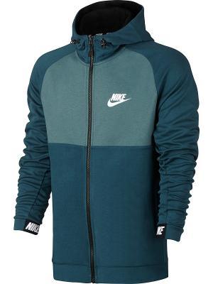Толстовка M NSW AV15 HOODIE FZ FLC Nike. Цвет: синий, черный