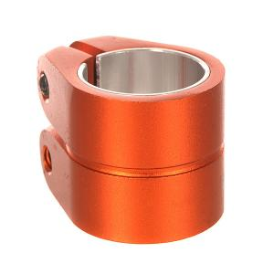 Зажимы  Smooth Double Bolt Clamp 1.5 Hiten M8 Allen Ano 021 U Orange Phoenix. Цвет: оранжевый