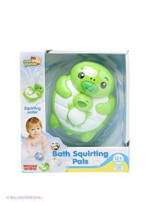 Игрушка для ванной Черепашка Hap-P-Kid. Цвет: зеленый