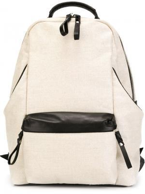 Структурированный рюкзак Cornelian Taurus By Daisuke Iwanaga. Цвет: телесный