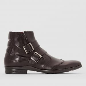 Ботинки с пряжкой ZEDDE REDSKINS. Цвет: черный