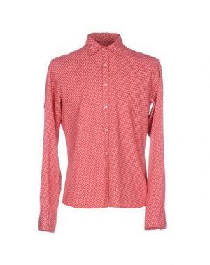Pубашка D.R SHIRT. Цвет: красный