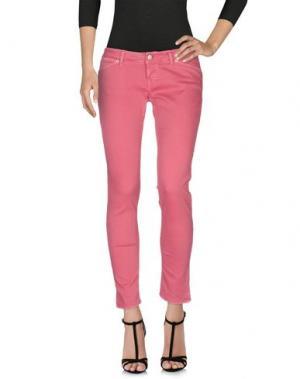 Джинсовые брюки 2W2M. Цвет: коралловый