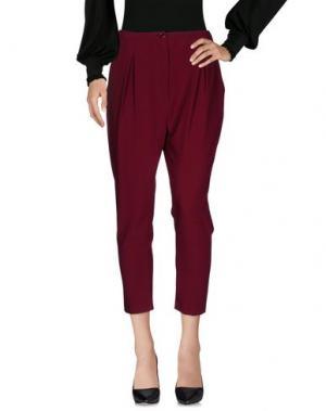 Повседневные брюки BERNA. Цвет: пурпурный