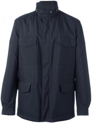 Куртка-ветровка Traveller Loro Piana. Цвет: синий