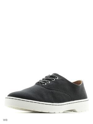 Ботинки Dr.Martens. Цвет: черный, белый