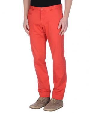 Повседневные брюки ALTEA. Цвет: красный