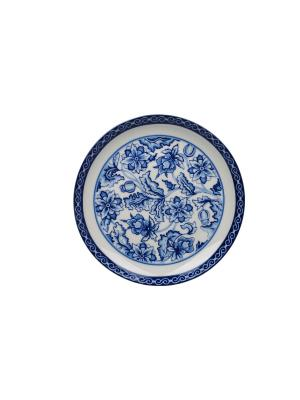 Тарелка десертная Blue Dream IV Elff Ceramics. Цвет: голубой, белый